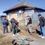 Активисты Киргинской школы